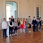 Mūzikas un mākslas skolas audzēkņu mācību gada noslēguma koncerts Rundāles pils Baltajā zālē 2013.gada 15.maijā