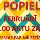 12.februārī – POPIELA