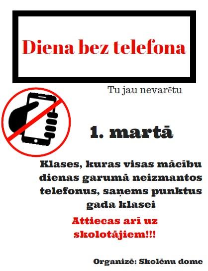 Bez telefona