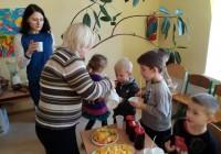 Svaigo sulu projekts Svitenes pirmsskolā