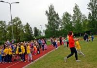 Sporta dienas pasākums mācību gada noslēgumā