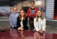 Jaunie žurnālisti Latvijas televīzijā