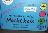 8.klase karjeras pasākumā iepazīstas ar matemātiku dzīvē un spēlēs