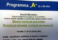 """Radošā NEdarbnīca """"Manas iespējas izaugsmei Rundāles novadā, Latvijā un Pasaulē!."""""""