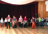 Meteņi kopā ar Svitenes folkloras kopu