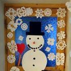 Izrotāsim durvis Ziemassvētku noskaņās