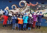 """1.a klase """"Skolas somas"""" ietvaros apmeklē Bauskas novadpētniecības muzeju"""